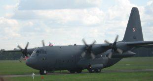 Samolot transportowy C-130 Polskich Sił Powietrznych